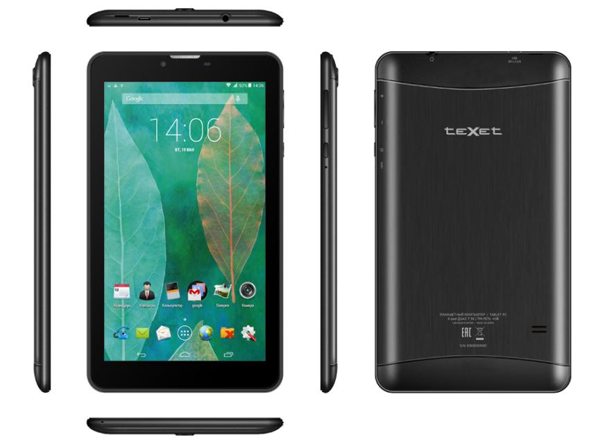 Видеопрезентация teXet X-pad QUAD 7 3G