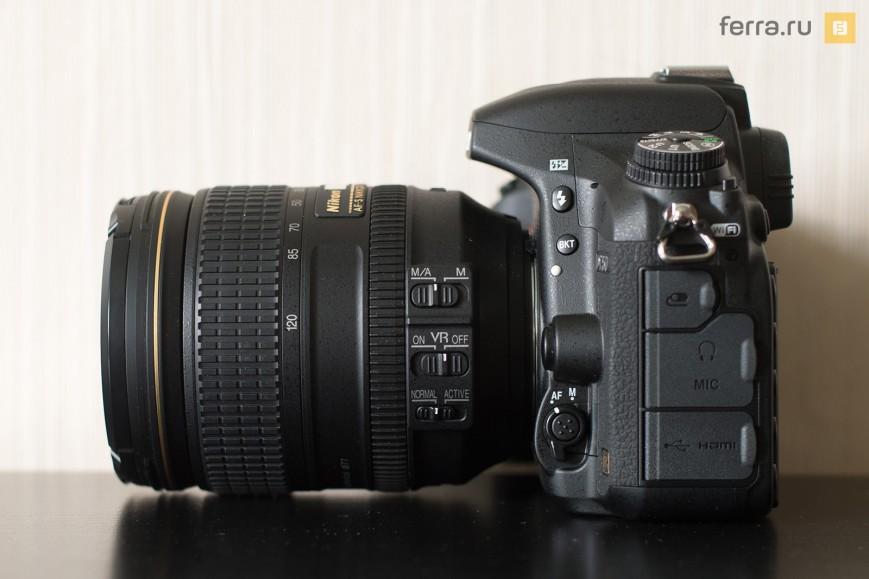 Общий вид Nikon D750