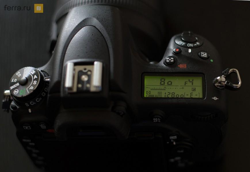 Вспомогательный экран Nikon D750