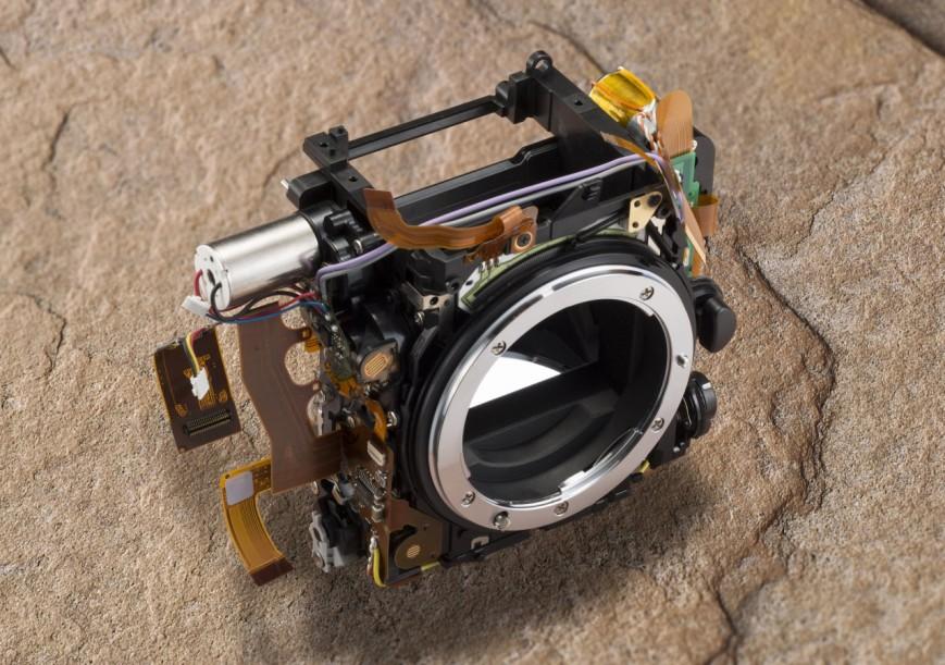 Модуль затвора Nikon D750