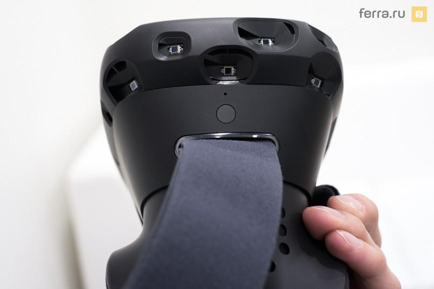 HTC Vive, вид сбоку