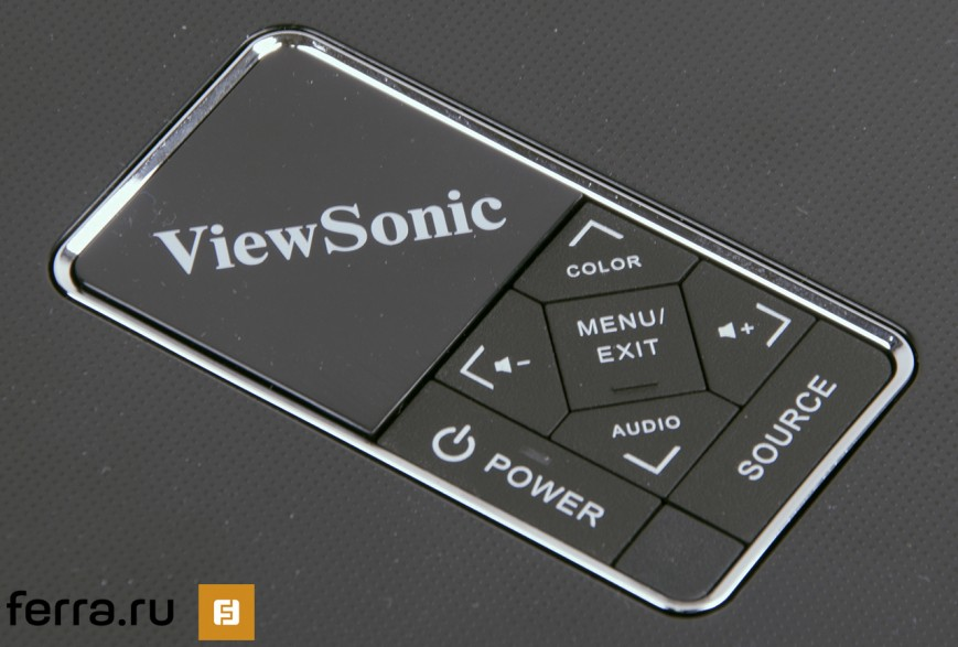 Клавиши управления ViewSonic PLED-W600