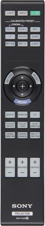 Проектор Sony VPL-VW300ES, пульт ДУ