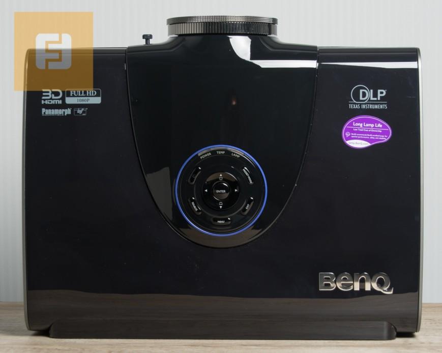 BenQ W7500, вид сверху