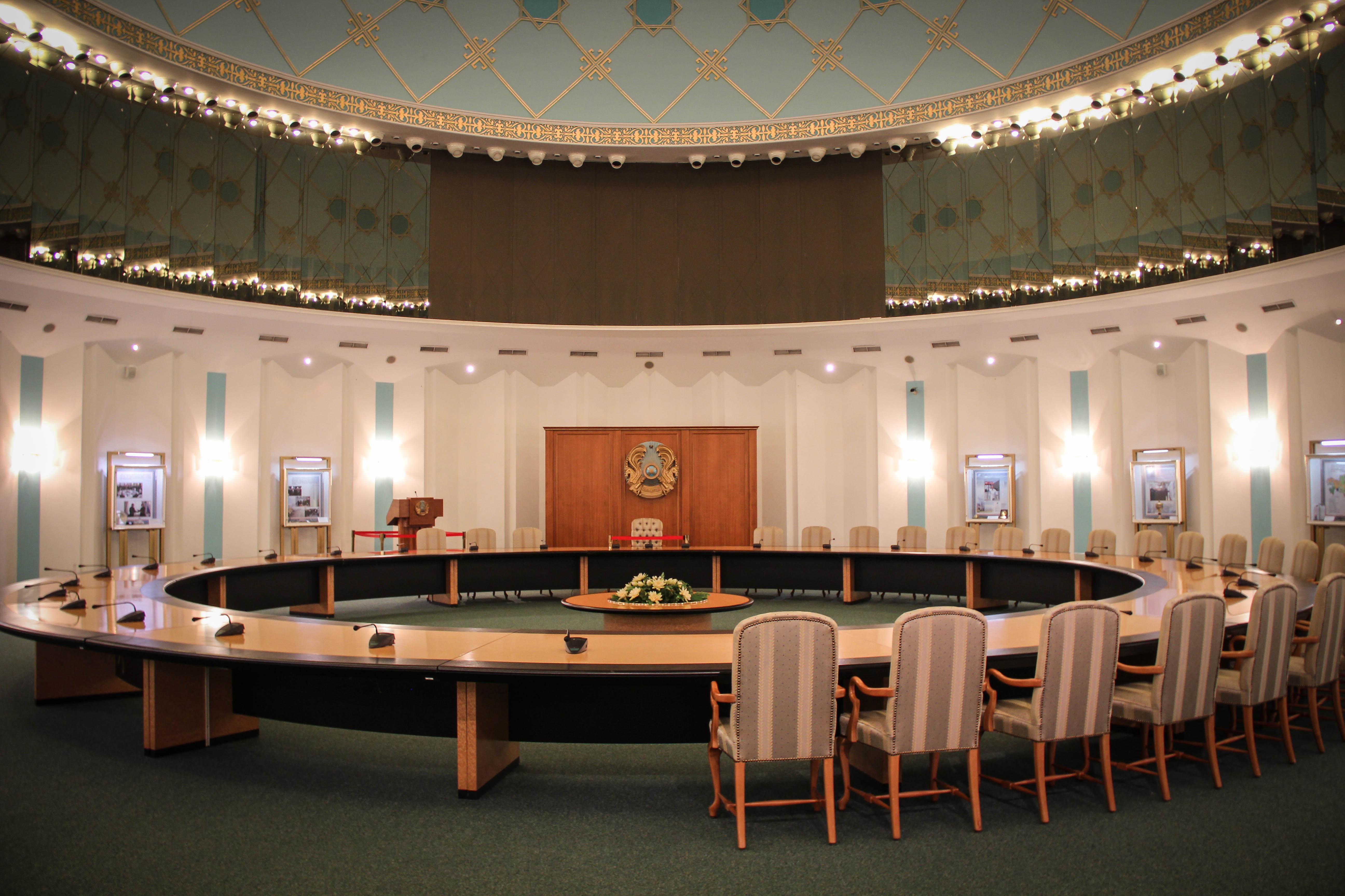 Конференц-зал в музее Первого Президента в Астане_ITmart.kz