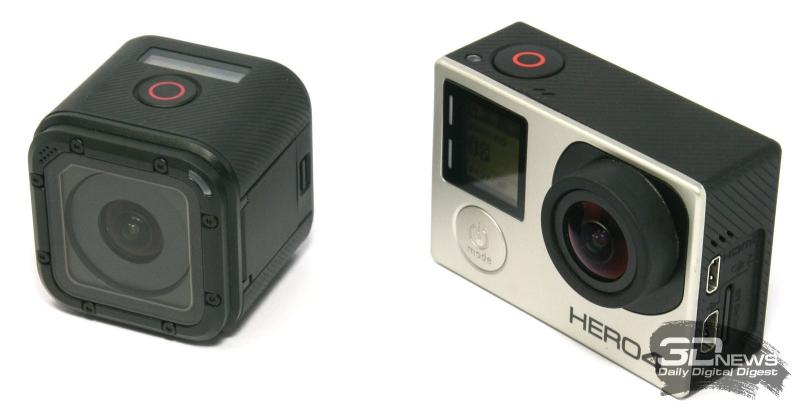 Экшен-камеры GoPro Hero 4 Session и GoPro Hero 4 Silver