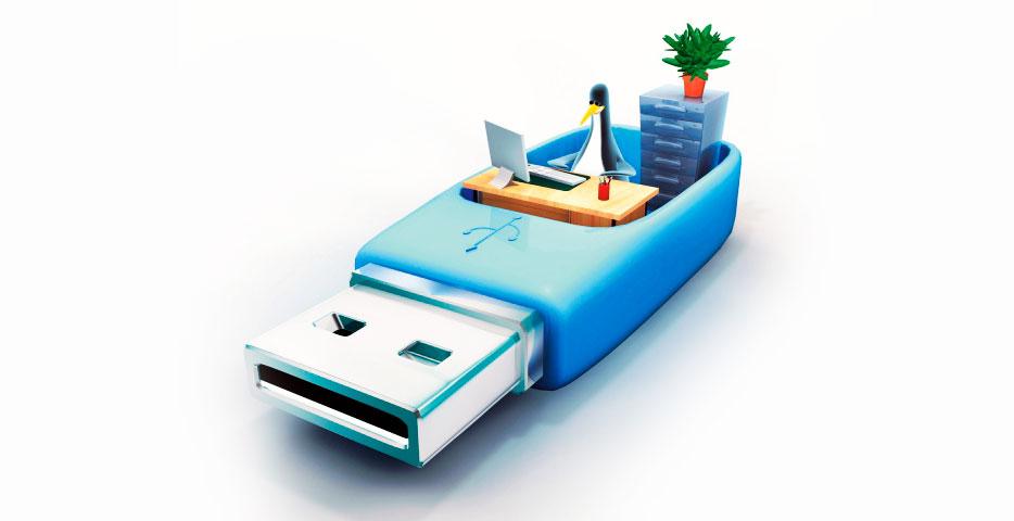 USB флеш-накопитель