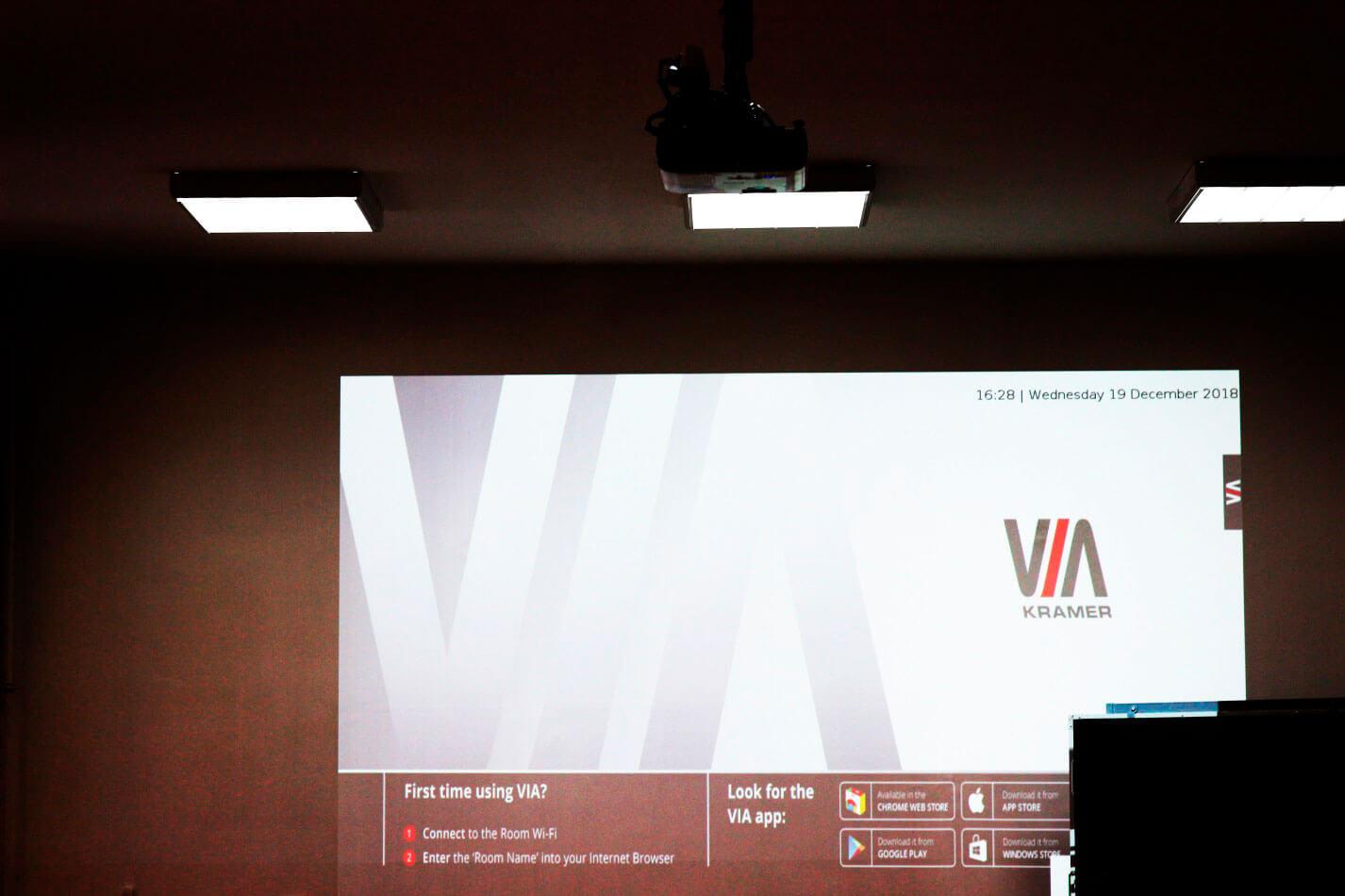 Интерактивная система VIA GO