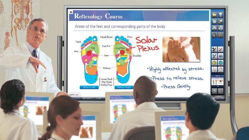 Интерактивная панель для медицины