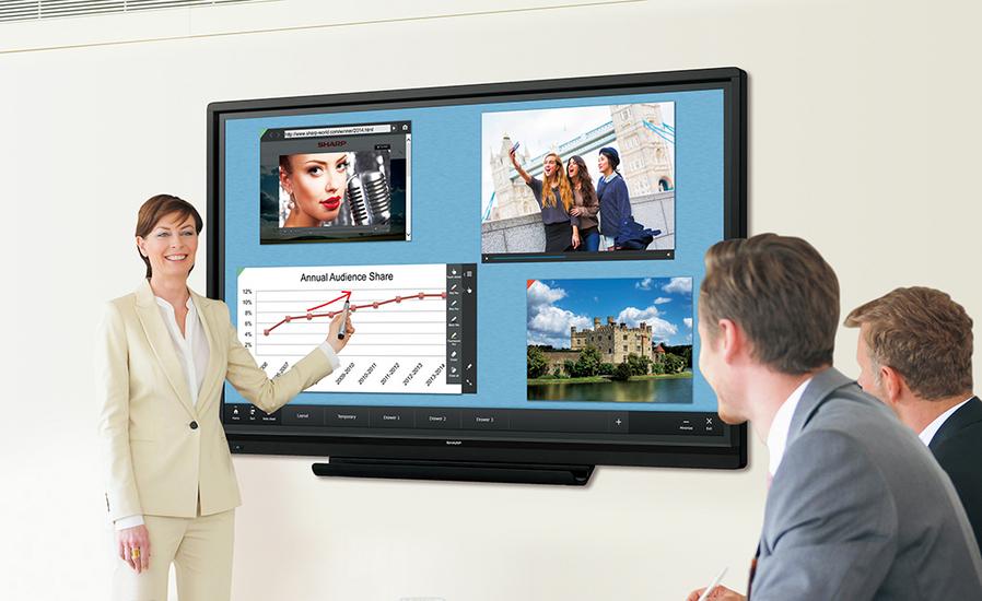 Интерактивная панель для офиса