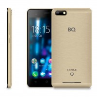 Смартфон BQ 5020 Strike Gold Brushed